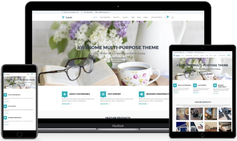 Flash-WordPress Theme