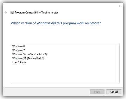 В коя версия на Windows е работила