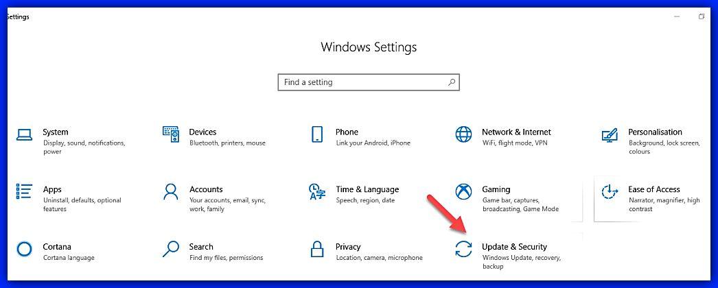 Отваряне на Windows Security