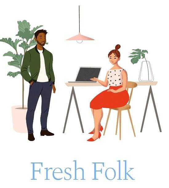 Fresh Folk илюстрации