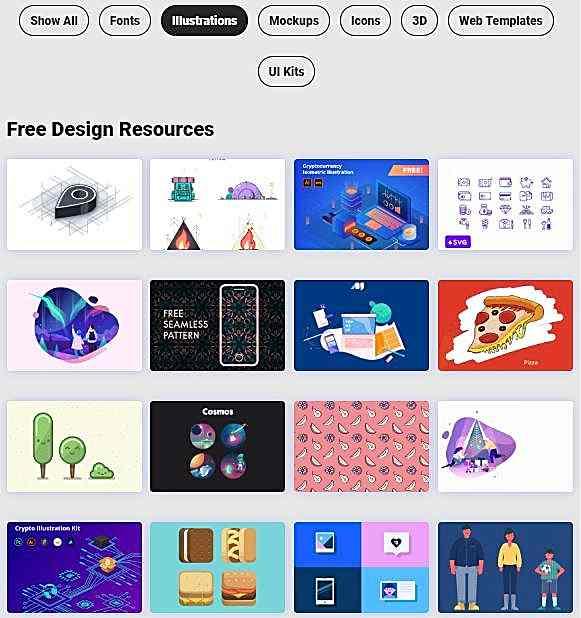 Ресурси за дизайнери от Interfacer