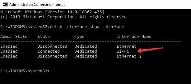 Net interface
