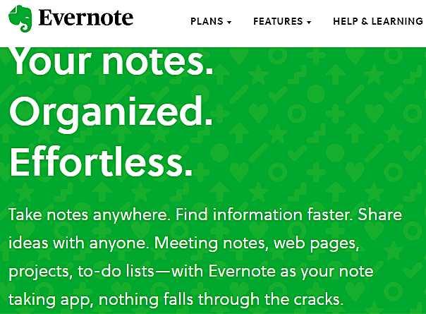 Evernote с голямо стойностно предложение