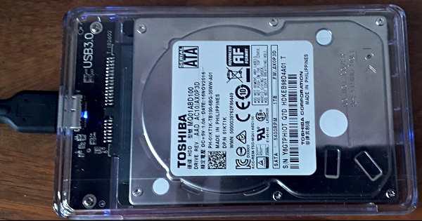 Използване на вътрешен хард диск като външен