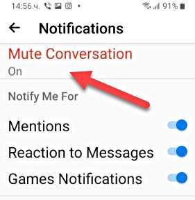 Заглушаване на разговорите