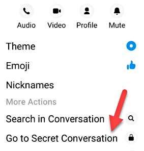 Иди на секретен разговор - трикове на Facebook Messenger
