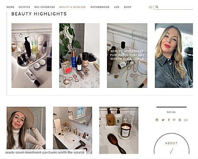 Brooklyn blonde - уебсайтове за мода, грим и стил на живот