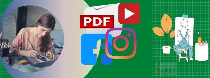 Сайт с много онлайн инструменти за работа с изображения, видео, документи