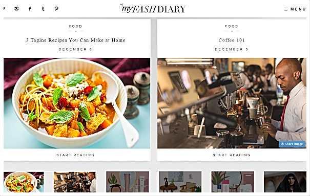 My fashdiary - уебсайтове за мода, грим и стил на живот