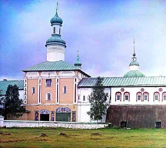 Светите порти от изток 1909, Фотограф Прокудин-Горски