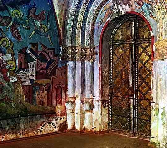 Църквата във Владимир 1909. Фотограф Прокудин-Горски - история на фотографията