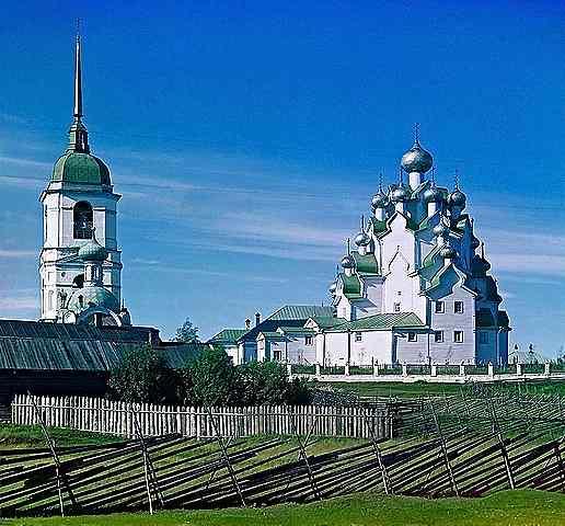 Църквата на Спасителя и защитата на Богородица-Прокудин-Горски