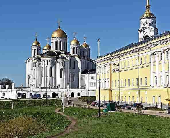 Катедралата на Успение Богородично във Владимир-Прокудин-Горски
