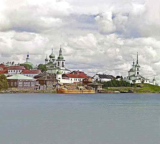 Горицки манастири, Снимка от Прокудин-Горски, юли 1909