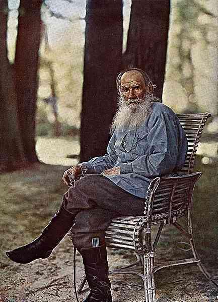 Л.Толстой–Фотограф Прокудин-Горски