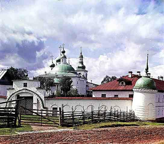 Катедралата Троица на Горицкия манастир. Снимка от Прокудин-Горски