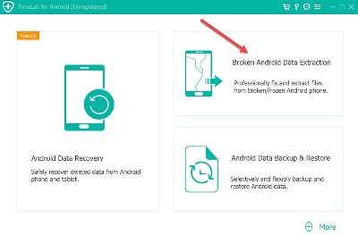 Broken Android Data Extractor